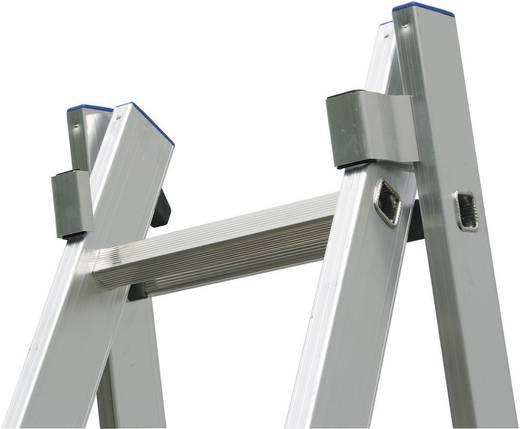 Aluminium Mehrzweckleiter Arbeitshöhe (max.): 5.25 m Krause 123213 Silber 10 kg