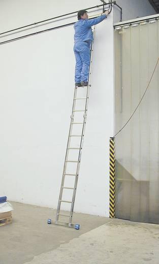 Aluminium Stufen-Doppelleiter Arbeitshöhe (max.): 5.50 m Krause 123541 Silber 10.5 kg