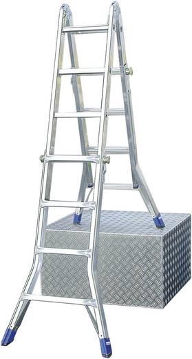 Aluminium Teleskopleiter Arbeitshöhe (max.): 5 m Krause 123565 Silber 15.5 kg
