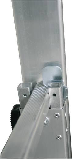 Krause 802231 Aluminium Glasreinigerleiter Arbeitshöhe (max.): 7.40 m Silber 19 kg