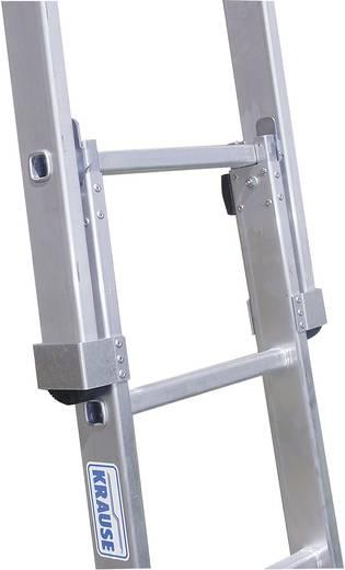 Aluminium Glasreinigerleiter Arbeitshöhe (max.): 6.05 m Krause 802187 Silber 15 kg