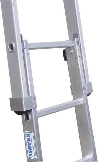 Aluminium Glasreinigerleiter Arbeitshöhe (max.): 7.40 m Krause 802231 Silber 19 kg