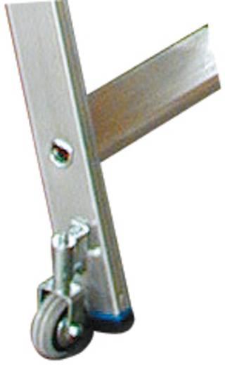 Aluminium Regalleiter fahrbar Arbeitshöhe (max.): 3.60 m Krause 819345 Silber 10.5 kg