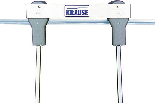 Krause 819369 Aluminium Regalleiter fahrbar Arbeitshöhe (max.): 4.10 m Silber 11.7 kg