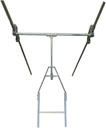 Aluminium Regalleiter Arbeitshöhe (max.): 2.70 m Krause 819413 Silber 13.5 kg