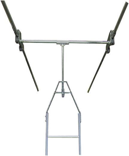 Aluminium Regalleiter Arbeitshöhe (max.): 4.30 m Krause 819482 Silber 18 kg