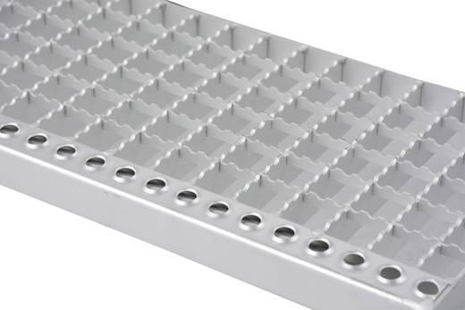 Aluminium Montagetritt Arbeitshöhe (max.): 2.40 m Krause 805324 Silber 6 kg