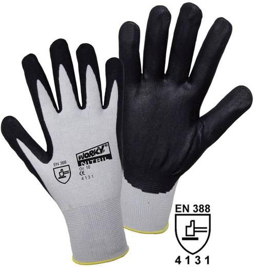 Nylon Arbeitshandschuh Größe (Handschuhe): 9, L EN 388 CAT II L+D worky FOAM Nylon NITRILE 1158 1 Paar