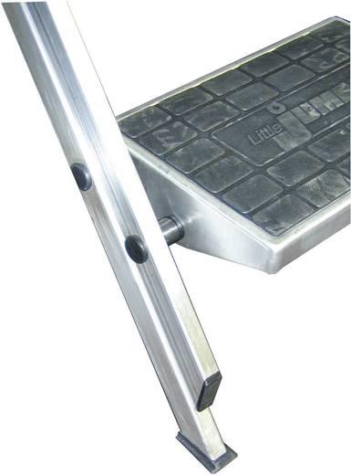 Aluminium Treppe klappbar Arbeitshöhe (max.): 2.90 m Krause 810267 Silber 10.6 kg