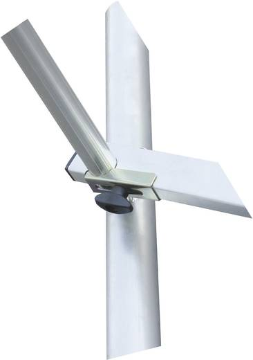 Aluminium Gerüst fahrbar Arbeitshöhe (max.): 5.30 m Krause ProTec 910134 Silber 95 kg