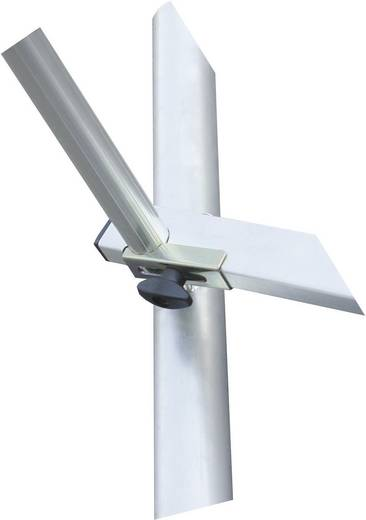 Aluminium Gerüst fahrbar Arbeitshöhe (max.): 6.30 m Krause ProTec 910141 Silber 103 kg