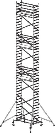 Krause 910202 Fahrgerüst Aluminium max. Arbeitshöhe 12.30 m