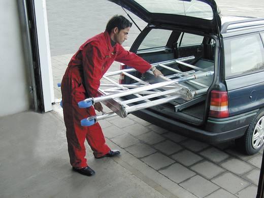Aluminium Gerüst klappbar, fahrbar Arbeitshöhe (max.): 10.80 m Krause ProTec XS 920089 Silber 211 kg