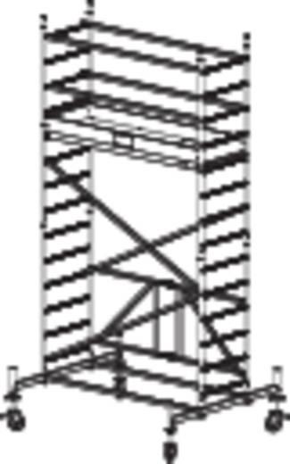 aluminium ger st klappbar fahrbar arbeitsh he max m krause protec xs 920027 silber 98. Black Bedroom Furniture Sets. Home Design Ideas
