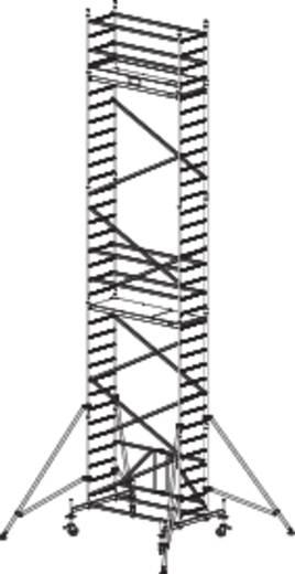 Krause 920072 Faltgerüst Aluminium max. Arbeitshöhe 9.80 m