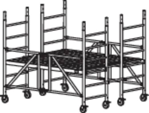 aluminium ger st fahrbar arbeitsh he max m krause protec xs p 920201 silber 89 kg kaufen. Black Bedroom Furniture Sets. Home Design Ideas