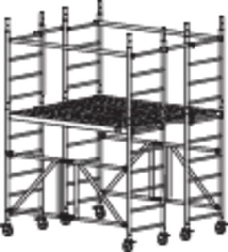 Krause 920218 Alu-Plattformgerüst max. Arbeitshöhe 3.70 m