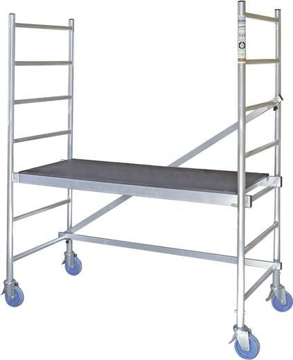 Montagegerüst Arbeitshöhe (max.): 2.90 m Krause RollTec 710307 Silber 24 kg