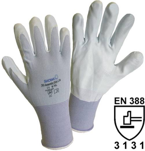 Showa 1164 SHOWA 265 Assembly Grip Lite Feinstrickhandschuh Nylon mit Nitrilbeschichtung Größe (Handschuhe): 6, XS
