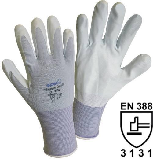 Showa 1164 SHOWA 265 Assembly Grip Lite Feinstrickhandschuh Nylon mit Nitrilbeschichtung Größe (Handschuhe): 8, M