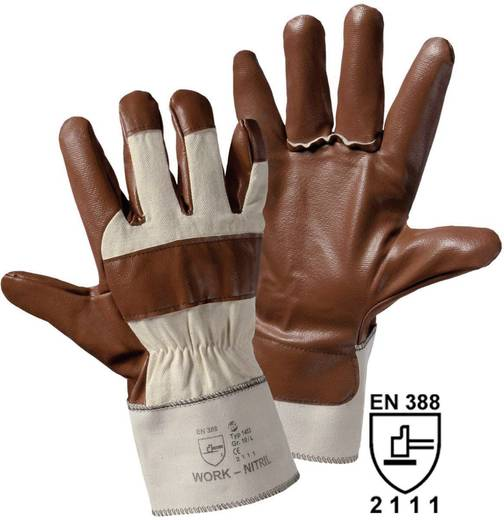 worky 1453 Nitril-Handschuh Baumwolle Größe (Handschuhe): Universalgröße