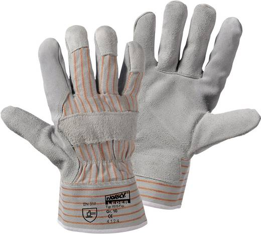worky 1519 Fox Rindspaltleder-Handschuh Rindspaltleder und Baumwolle Größe (Handschuhe): 9.5, L