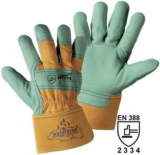 worky 1572 Waterproof Rindnarbenleder-Handschuh Rindnarbenleder und Baumwolle Größe (Handschuhe): Universalgröße