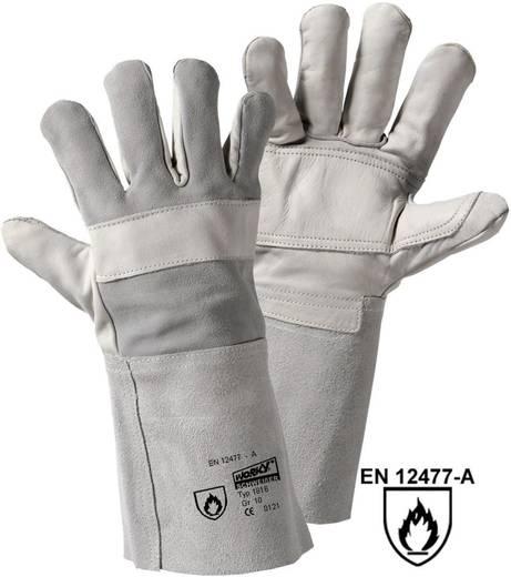 worky 1816 BRIO Schweißer-Handschuh Rindnarbenleder und Spaltleder Größe (Handschuhe): Universalgröße