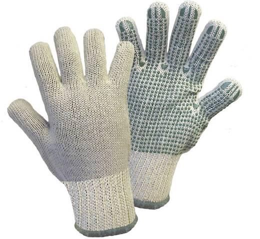 Griffy 1133SB Green Dot Grobstrickhandschuh Gr.10 65% Baumwolle / 35% Polyester mit Vinyl-Punktbeschichtung Größe Herre