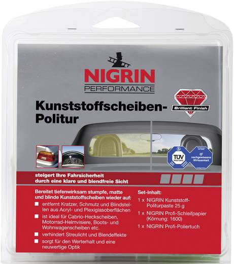 Scheibenpolitur Kunststoff Nigrin 73914 1 St.