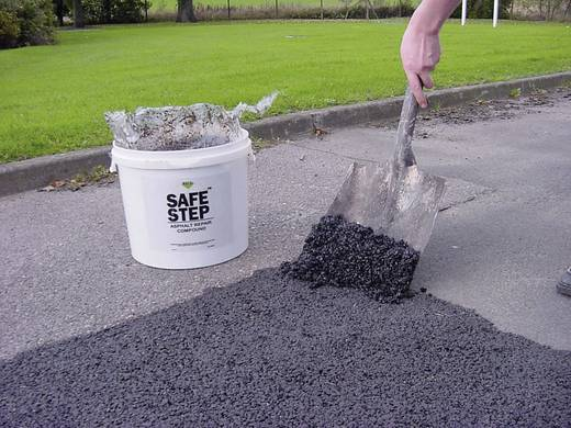 Rocol SAFE STEP Asphalt Repair Compound Hochleistungsverbundmaterial 42031 25 l