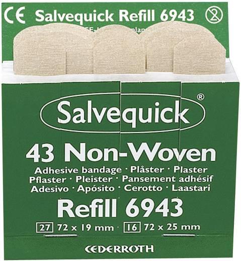 Söhngen 1009943 Salvequick Pflaster-Strips Vlies, 43 Stück