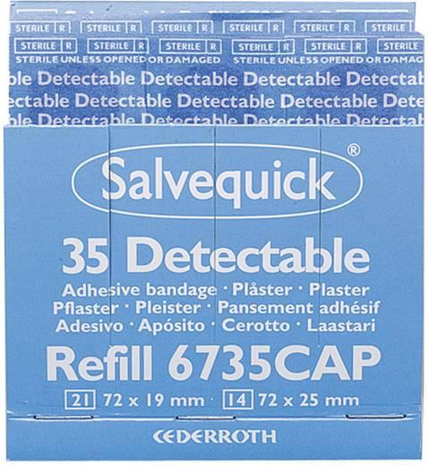 Söhngen 1009735 Salvequick Pflaster-Strips detectabel 35 Stück