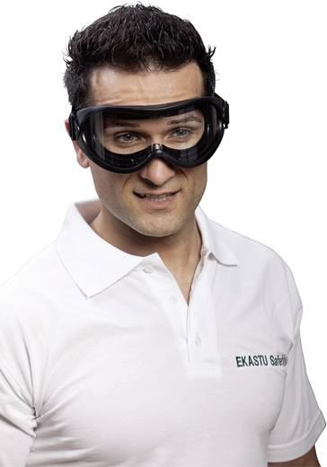 Vollsichtbrille EKASTU Sekur 277 384 Schwarz DIN EN 166-1