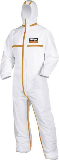 Uvex 9871112 Einwegschutzanzug Typ 4 B Größe=XL Weiß, Orange