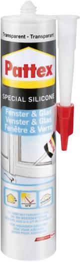 Pattex Ramen & glas Silikon Farbe Transparent PFGFT 300 ml