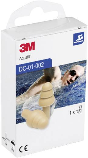 Gehörschutzstöpsel mehrweg 3M Aquafit XA007703656 1 Paar