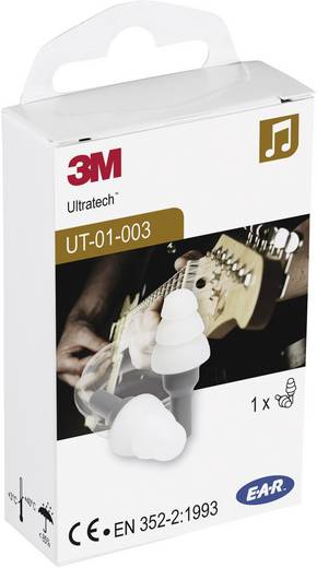 Gehörschutzstöpsel 20 dB 3M XA007703672 1 Paar