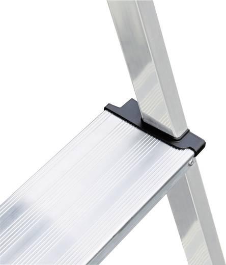 Aluminium Stufen-Stehleiter Arbeitshöhe (max.): 2.85 m Krause 126528 Silber 4 kg