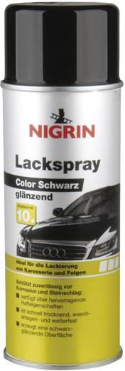 Lackspray schwarz glänzend Nigrin 74113 400 ml