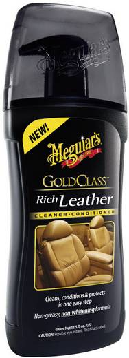 Lederpflege Meguiars Gold Class Rich Leather Cleaner G17914 400 ml