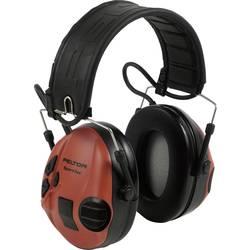 Mušlový chránič sluchu proti impulzním zvukům 3M Peltor SportTac MT16H210F-478-RD, 26 dB, 1 ks