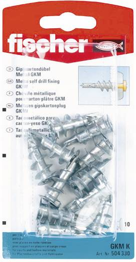 Gipskartondübel Fischer GKM K 31 mm 8 mm 504330 10 St.