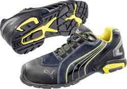 Bezpečnostná obuv S1P PUMA Safety Metro Protect 642730, veľ.: 45, čierna, modrá, žltá, 1 pár