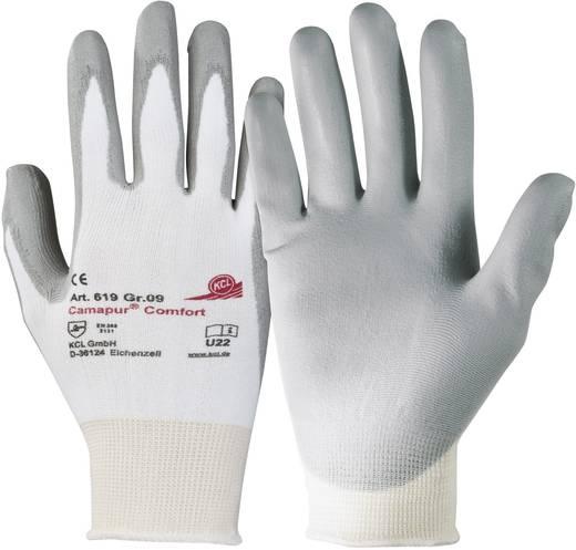 Polyurethan, Polyamid Arbeitshandschuh Größe (Handschuhe): 7, S EN 388 CAT II KCL Camapur ® Comfort 619 1 Paar