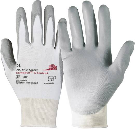 Polyurethan, Polyamid Arbeitshandschuh Größe (Handschuhe): 9, L EN 388 CAT II KCL Camapur ® Comfort 619 1 Paar