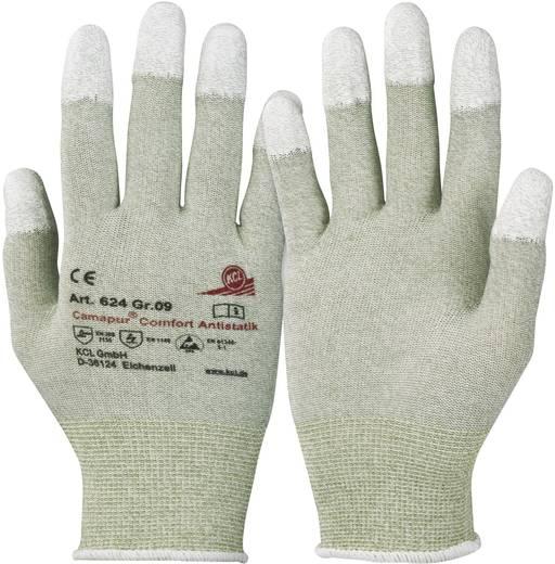 Polyamid Arbeitshandschuh Größe (Handschuhe): 7, S EN 16350:2014-07 CAT II KCL Camapur Comfort Antistatik 624 1 Paar