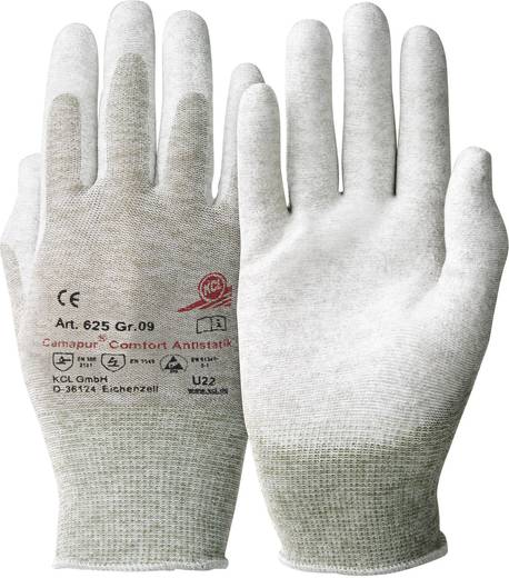 KCL 625 Handschuh Camapur Comfort Antistatik Polyurethan, Polyamid, Kupfer Größe 8 1 Paar