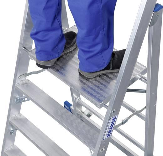 Aluminium Montagetritt klappbar Arbeitshöhe (max.): 2.95 m Krause STABILO Professional 126085 Silber 11.3 kg