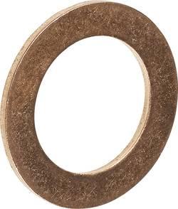 Těsnící kroužek Toolcraft, měděný, DIN 7603, vnitřní Ø 10 mm, vnější Ø 14 mm, 100 ks